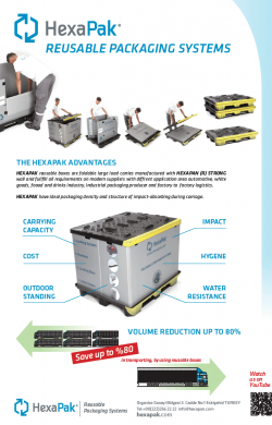 hexapak reusable packaging systems EN