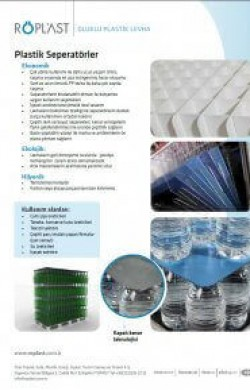 Plastik Separatörler